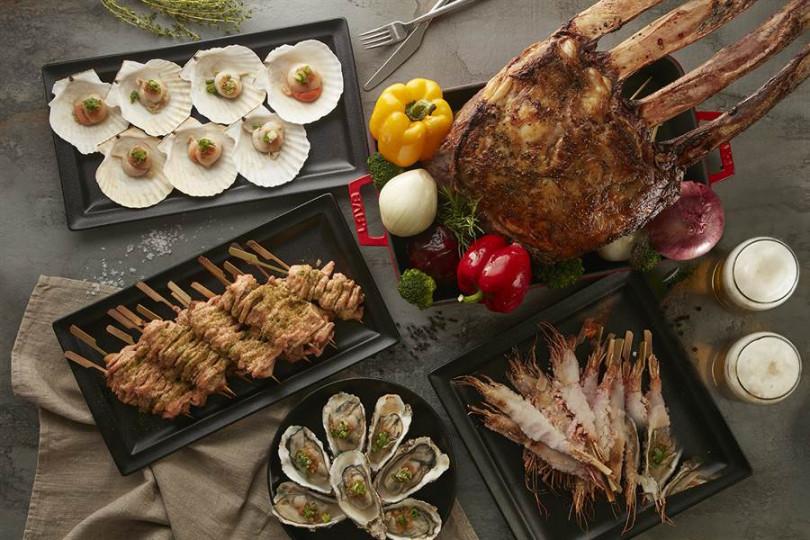 台北國泰萬怡酒店MJ Kitchen即日起推出夏日燒烤宴。