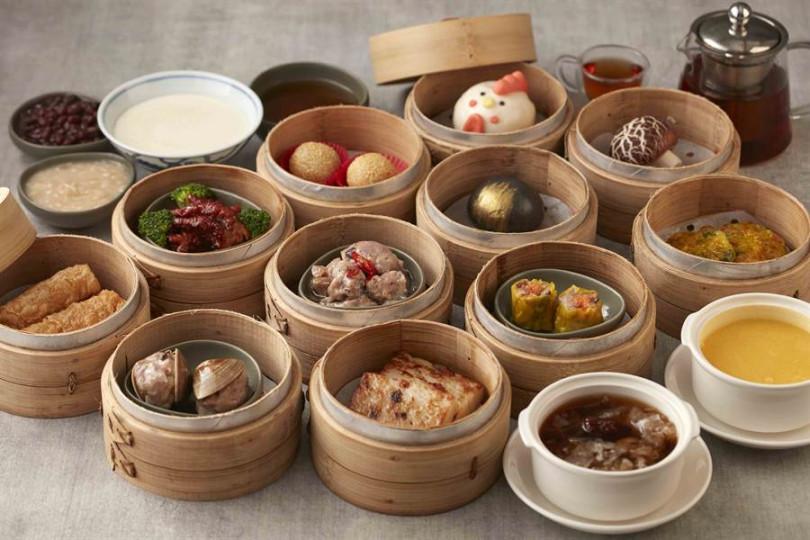 台北國泰萬怡酒店中式下午茶套餐。