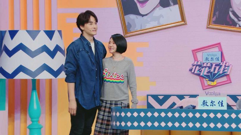 鄭元暢透露前女友和小S一樣高。(圖/friDay影音)
