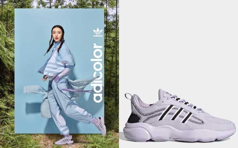 adidas Originals 淡紫色HAIWEE/3,290元(圖/品牌提供)