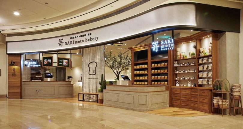 台北101二店每日早上10:30發吐司提貨卷,依出爐時間至現場提貨(每人限購二條)(圖/嵜本SAKImotoBakery)