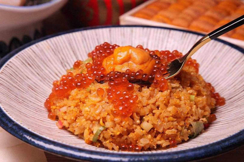 海膽炒飯。(圖/初幸居食屋提供)