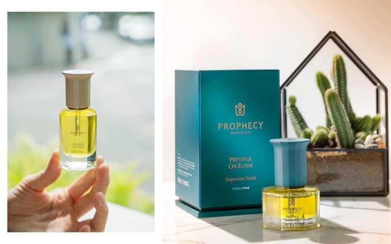年度必收美容油:Prophecy Morocco鉑翡斯的仙人掌籽油及摩洛哥堅果油,油潤澤而不膩、保濕超到位。(圖/IG)