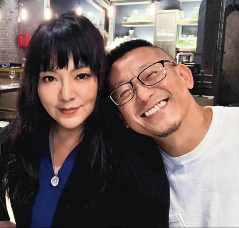 唐綺陽是蔡意欽的大學學姐,從學生時期到現在,給他很多提點與照顧。(圖/蔡意欽提供)