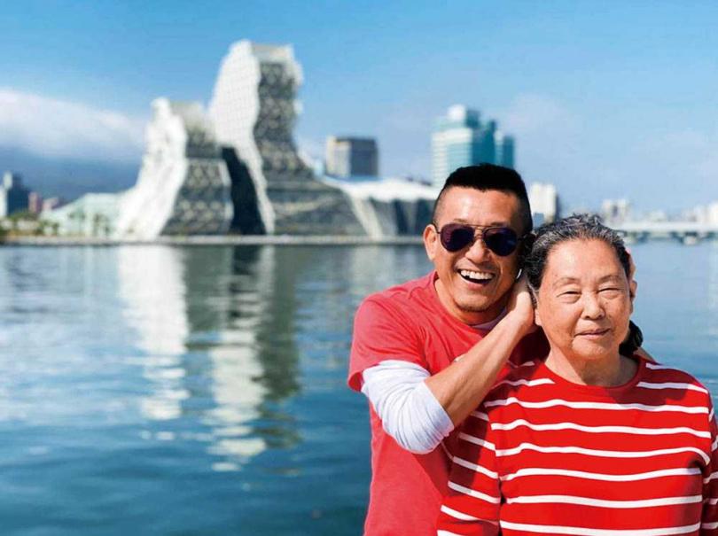 媽媽和蔡意欽是彼此的最愛,但在成長過程中,媽媽也曾無法接受他愛的是同性。(圖/蔡意欽提供)