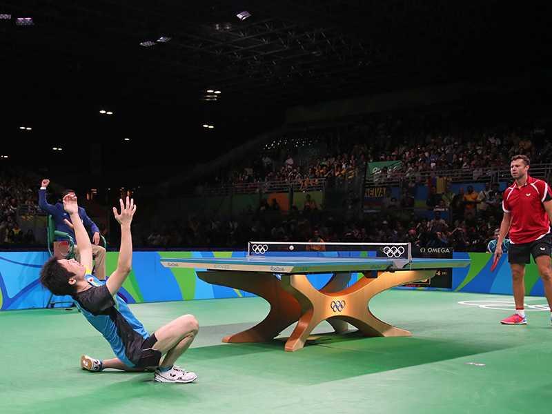 2016年里約奧運桌球檯Infinity