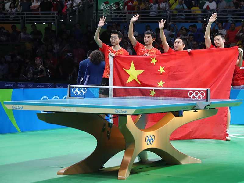 2016年里約奧運桌球檯 Infinity