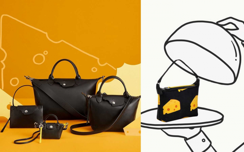 全新Longchamp Le Pliage限量系列。(圖/品牌提供)