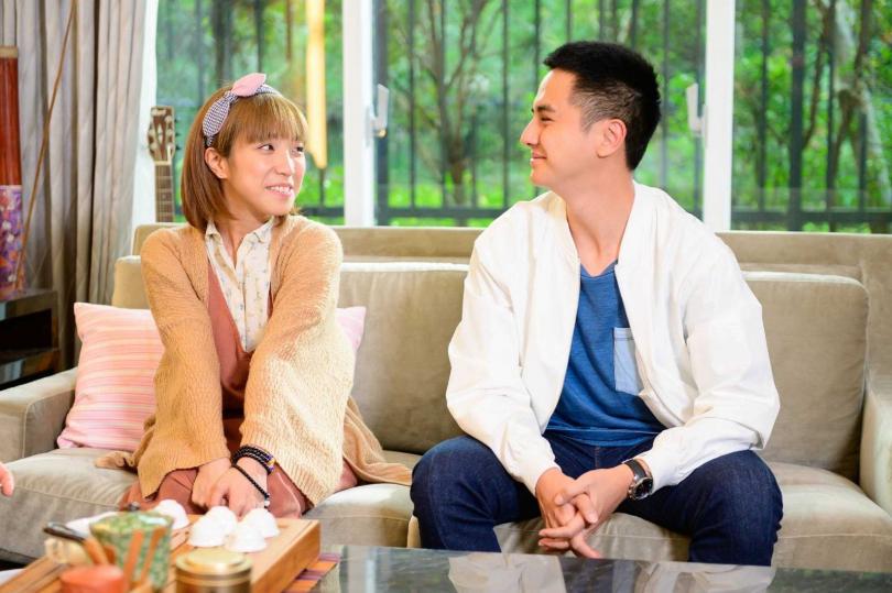 梁舒涵在新戲中升格人妻,和曾子余組CP深得粉絲喜愛。(圖/中視提供)