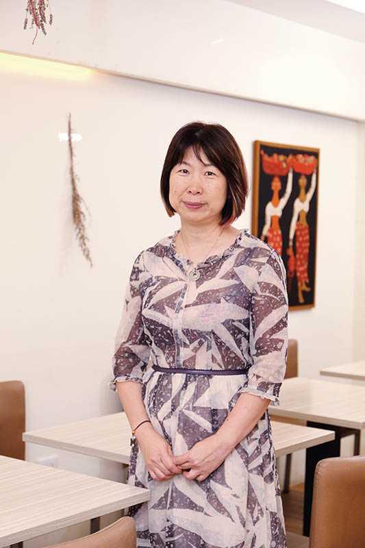 執行長王淑珍認真推動友善農食和活動。(圖/于魯光攝)