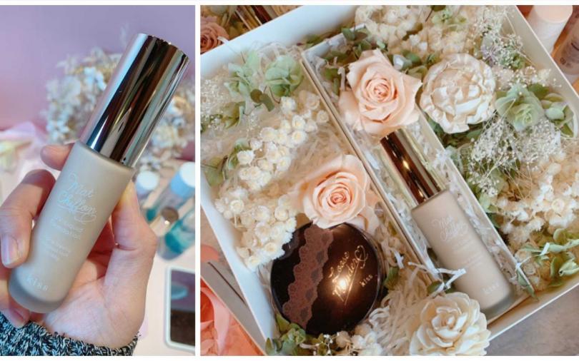 「愛‧我無暇閃耀」花禮/2,599元  收到這樣的精美禮盒,誰會不感動!難怪開賣首日就吸引許多消費者詢問。(圖/吳雅鈴攝影)