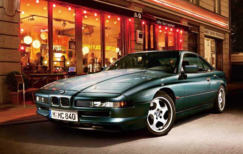最早的8 Series首見於1989年,於1999年停產,期間共生產3萬輛。(圖/汎德提供)