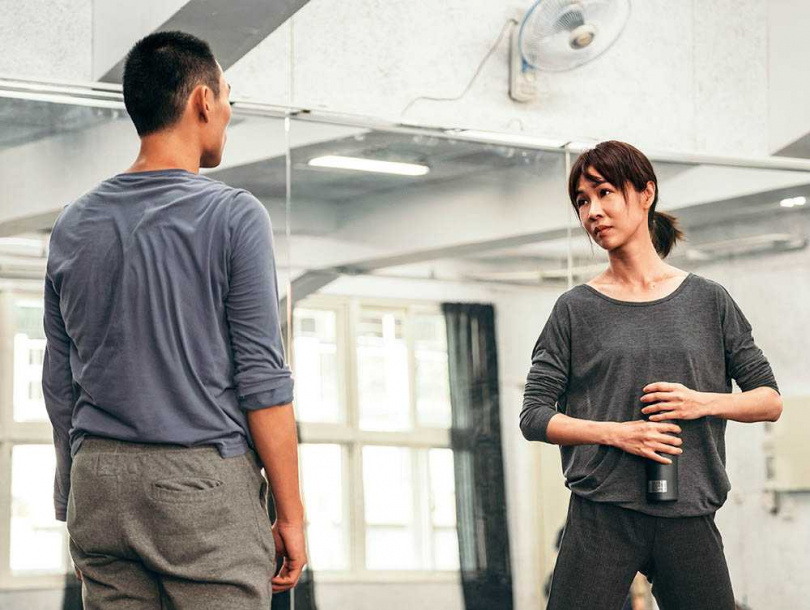 片中謝盈萱飾演舞者,與現實中的她相當貼近,同為表演藝術工作者。(圖/威視提供)