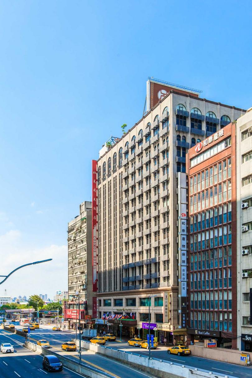 圖為「台北天成大飯店」。