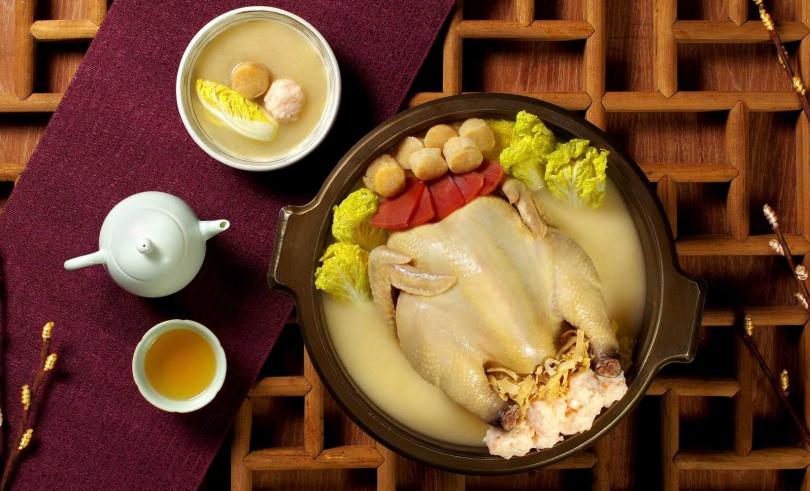 圖為「干貝金華火腿燉雞盅禮盒」。