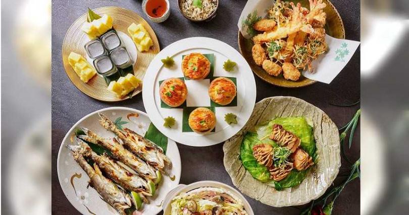 「澄江日本料理」推出適合分享的母親節套餐。(圖/台北神旺大飯店提供)