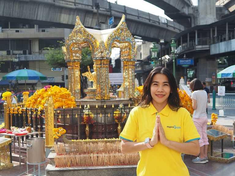 宅在家也能線上參拜泰國曼谷四面佛祈福還願。