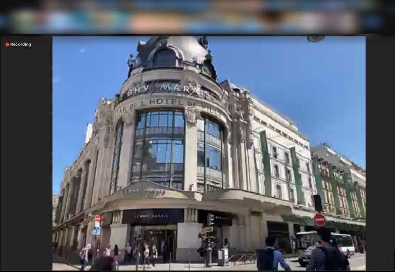 線上旅行法國巴黎最受消費者歡迎,為居家體驗人氣榜中的第1名。