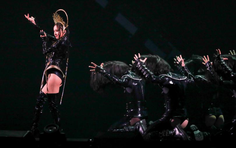 蔡依林《Ugly Beauty》巡演台北站將自30日起,一連演出6場。(圖/張祐銘攝影)