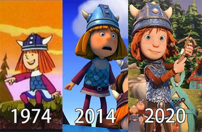 《北海小英雄》主角「小威」不同時期的外型變化。(圖/華映娛樂提供)