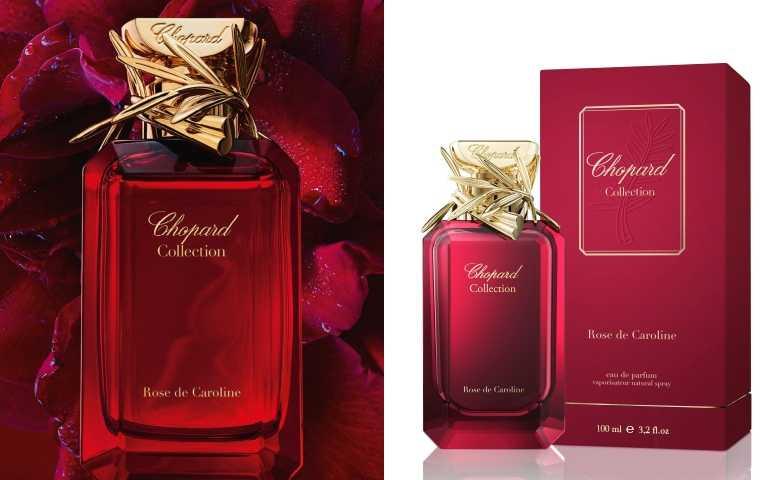 CHOPARD ROSE DE CAROLINE 卡洛琳玫瑰花園淡香精/18,900元,全台限量4支(圖/品牌提供)