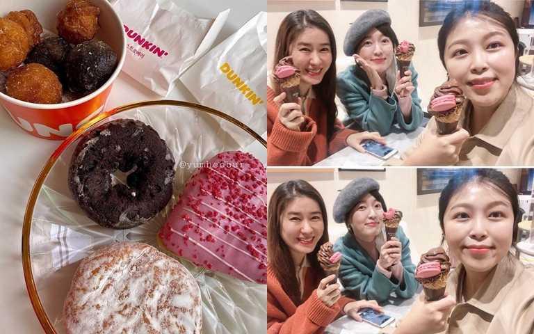 雖然甜點、冰淇淋真的很好吃,但它們對肌膚的傷害真的也很大!(圖/IG@yumheobur、IG@eatpraylove511)
