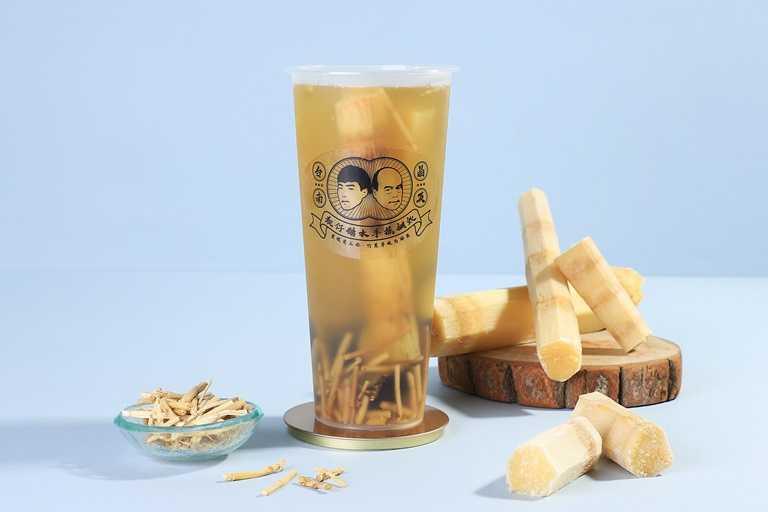 竹蔗茅根馬蹄露也是常見的港式糖水。(60元)