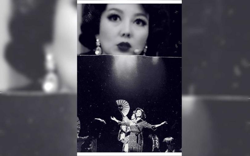 苗可麗近期忙於音樂劇《台灣有個好萊塢》演出。(圖/翻攝自臉書)