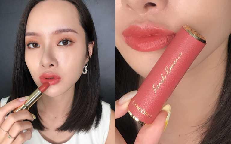 LANCOME絕對完美唇膏2020七夕限定版#274French Romance/1,200元(圖/黃筱婷攝影)