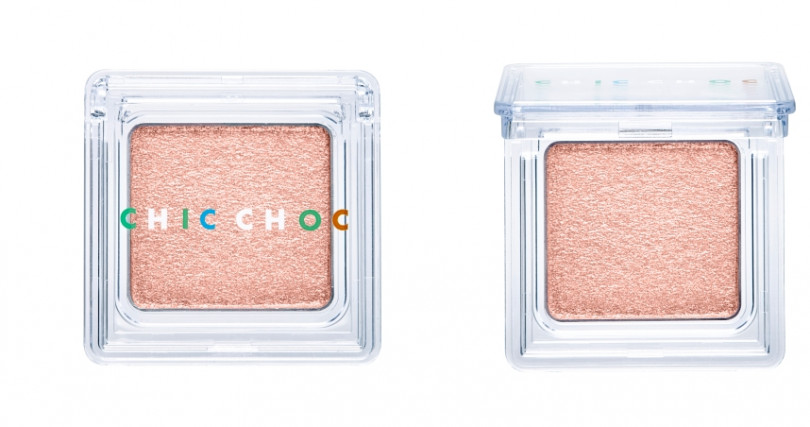 CHIC CHOC輕質透光眼影/580元。(圖/品牌提供)
