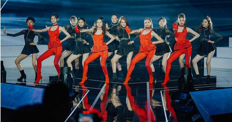 參賽者練開場舞〈Can't stop me〉近2個月。(圖/野火娛樂提供)