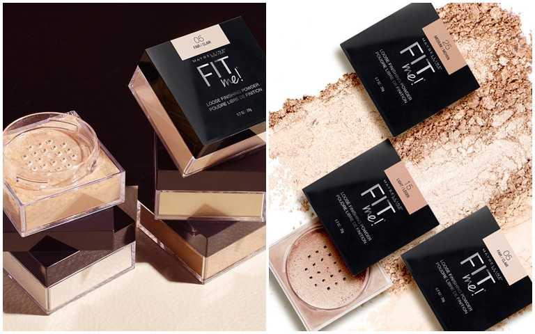原價450元的媚比琳FIT ME空氣絲絨蜜粉,於寶雅、康是美、家樂福都能買到買一送一的優惠組合。(圖/品牌提供)