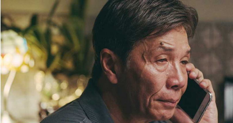 太保從影近50年來首度演同志電影,首度當男主角,在《叔‧叔》中的演出受肯定。(圖/Netflix提供)