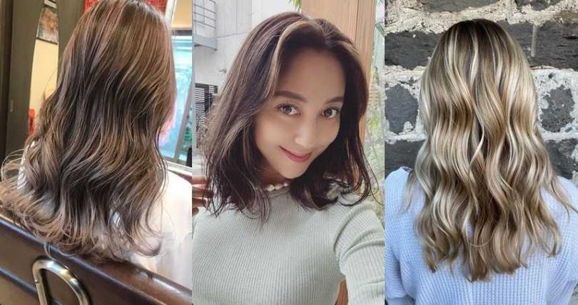 亞洲女孩如果嘗試這樣的混搭挑染髮色,真的美呆了。(圖/品牌提供、IG@mayuyosimura、IG@hitomy220)