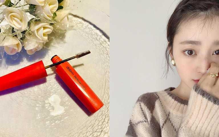dejavu就是自然輕盈眉彩膏3g/260元採用直徑3mm的極小刷頭,幫助梳理毛流,不易沾到肌膚。(圖/IG@nanaho_yoshida、IG@730_ayumi)