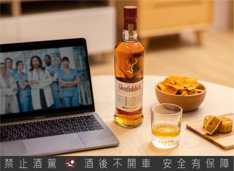 浪漫選片佐「格蘭菲迪12年天使雪莉單一麥芽威士忌」NT$1,040/700 ml酒精濃度:43%(格蘭父子提供)
