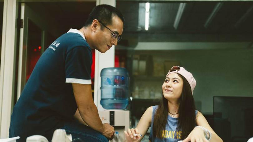 《噬罪者》陳芷玲與莊凱勛有許多精彩對手戲。(公視提供)