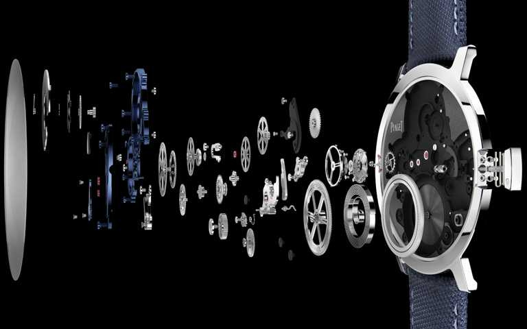 IWC「Portugieser葡萄牙」系列,陀飛輪逆跳計時腕錶(專賣店特別版),18K Armor Gold金錶殼,限量50只╱價格店洽。(圖╱IWC提供)