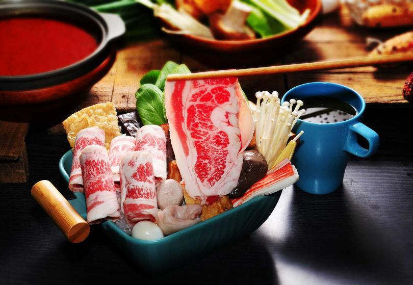 麻辣五花牛肉鍋。(圖/辣MINI提供)