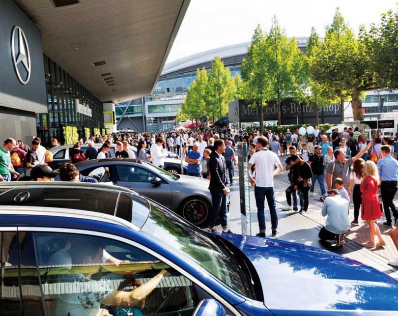 去年Mercedes-AMG GLE Coupé在法蘭克福車展登場時,就吸引不少目光。(圖/IAA提供)