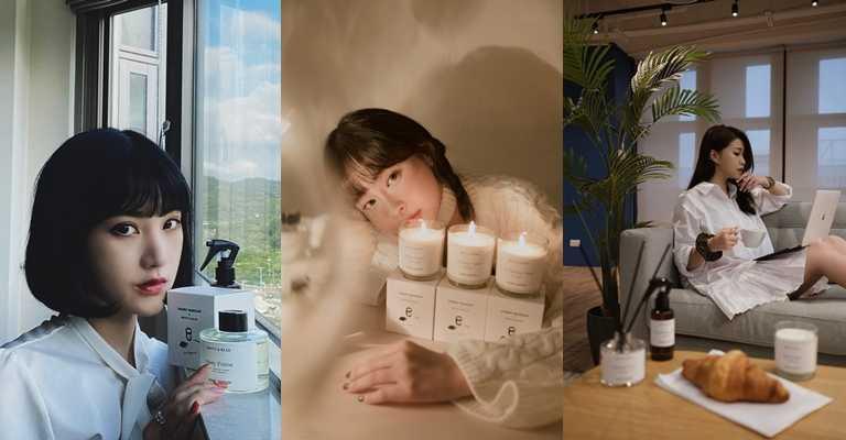 簡約造型及氣質香味連人氣網路名人也抵擋不了。圖為KOL李優、林子珊、白白。(圖/品牌提供)