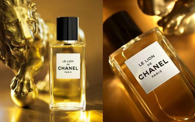 香奈兒LE LION獅子香水75ml/7,300元;香奈兒LE LION獅子香水200ml/13,000元。(圖/品牌提供)