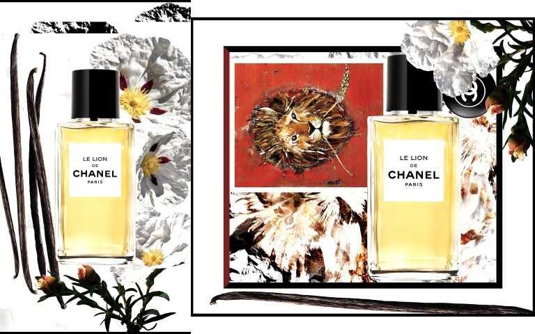 香奈兒LE LION獅子香水形象圖。(圖/品牌提供)