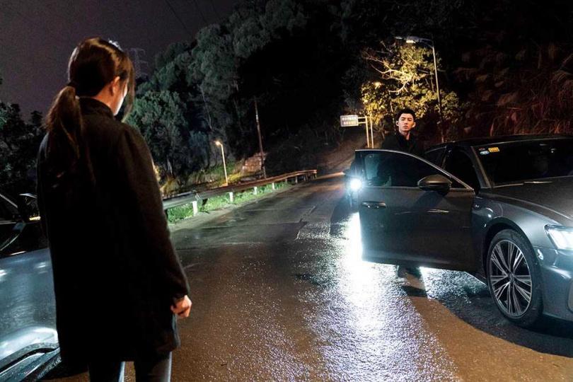 蕭子墨在《刺殺小說家》中與楊冪同場對戲,也努力學習對方的工作態度。(圖/原創娛樂提供)