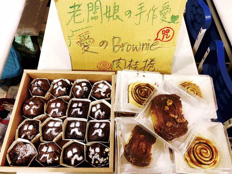除了是專業主播,有雙巧手的宋燕旻經常自製各式糕點,慰勞辛苦的老公和電影工作人員。(圖/翻攝自宋燕旻臉書)