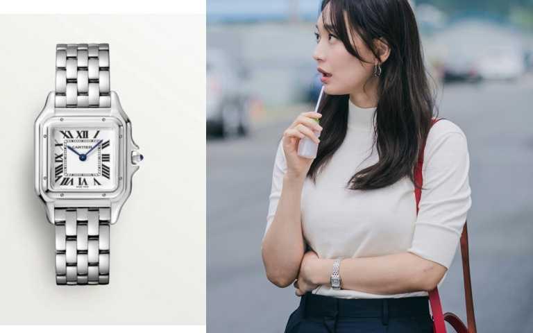 卡地亞(Cartier)腕錶(圖/IG、翻攝自網路)
