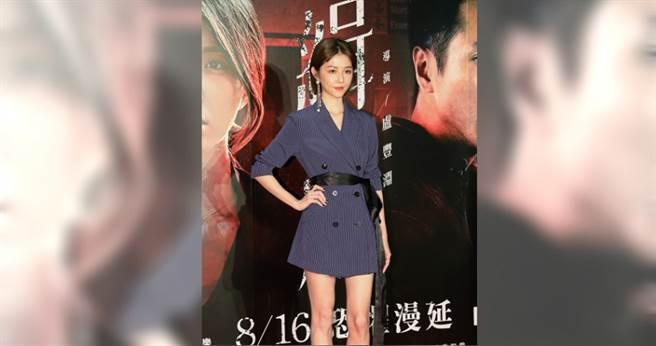 邵雨薇在片中有場迷姦戲,令她難以忘懷。(圖/林勝發 攝)