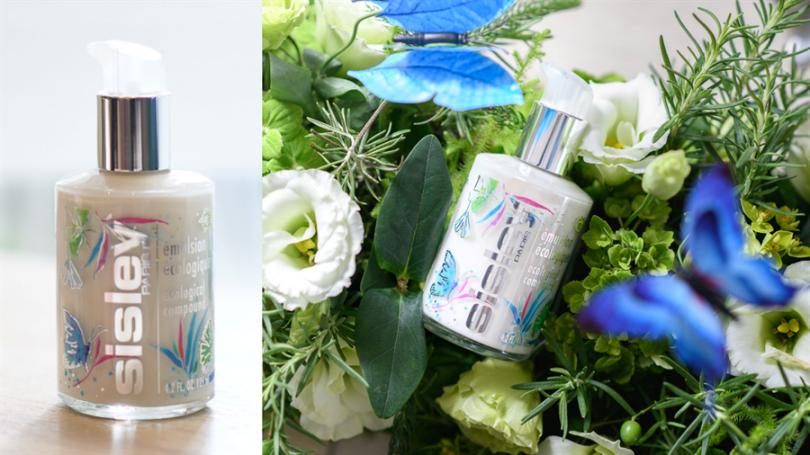 Sisley全能乳液,浪漫夏日花園限量瓶再現傳奇經典!