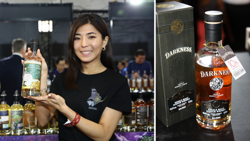 ▲左:The Boutique-y Whisky Company。右:Darkness。(圖/華揚國際)