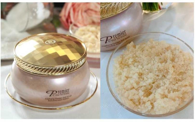 Premier金砂淨化浴鹽/2,600元(圖/品牌提供、吳雅鈴攝)